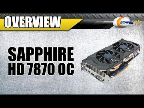 Newegg TV: Sapphire AMD Radeon HD 7870 GHz OC CrossFireX Benchmarks