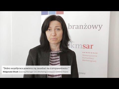 Małgorzata Olczak, Sourcing Manager CEE (Marketing) at GlaxoSmithKline Poland