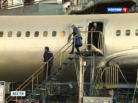 Небесный долгожитель Ту-154 сняли с производства