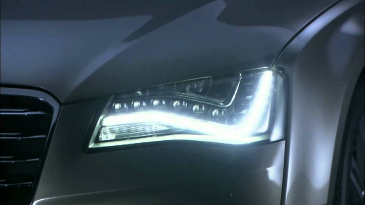 2011 Audi A8 Lighting Sequence Youtube