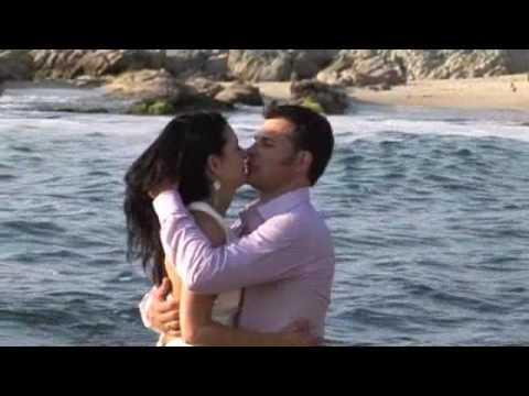 Destination Beach Wedding Trash the Dress Ocean Sunset by PromovisionPV