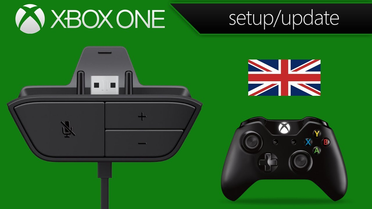 Xbox One Stereo Headset Adapter Setup Controller Update