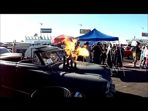 Fun with Fire at 5 & Diner Rockabilly Bash