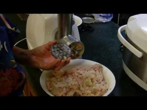 Как приготовить рыбный фарш - видео