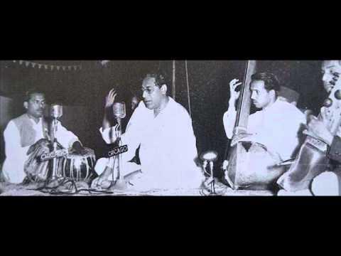 Ustad Amir Khan  Abhogi and Suha 1955