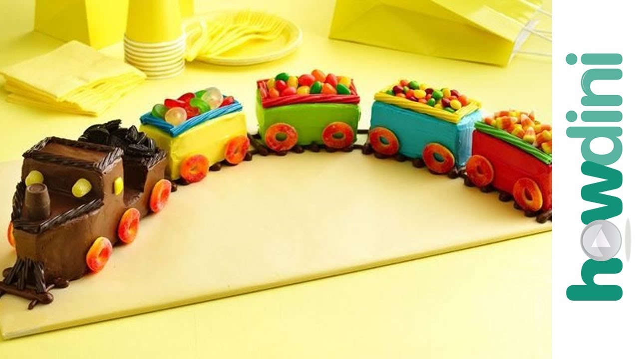 Easy Train Cake For Kids