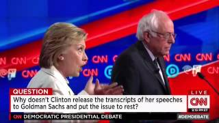 Clinton Booed For Repeatedly Dodging On Releasing Speech Transcripts