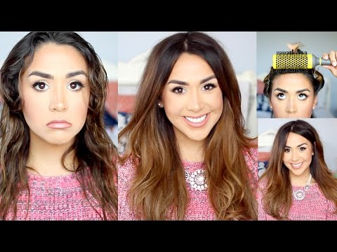 Voluminous Blowout Tutorial using Drybar and NuMe Products