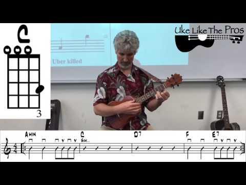 Lesson 4 - 23 Ultimate Chord Progression For Ukulele Led Zeppelin