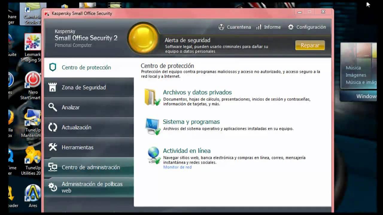 Ключи Small Office Security 2