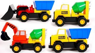 Mix and Match Magnetic Construction Truck Playset | Learn Colors with Yippee Toys