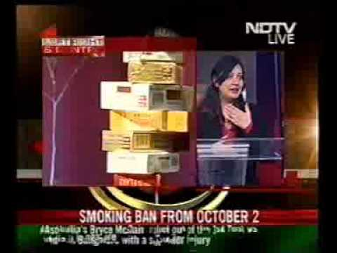 'Smoking ban in public places, a welcome step', says Sajeela