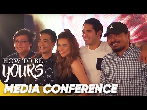 [FULL] 'How To Be Yours' Media Conference | Bea Alonzo & Gerald Anderson