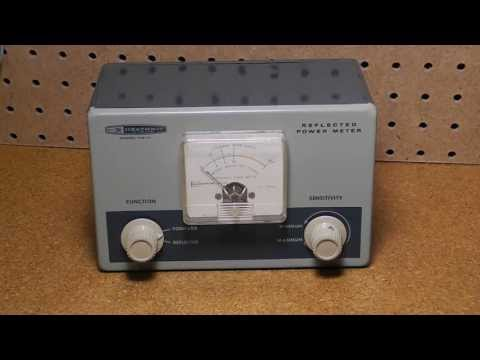 The Heathkit HM-11 Reflected Power Meter and SWR Bridge