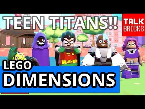 LEGO Dimensions Teen Titans Go! Trailer Breakdown! WB Live at E3 Gameplay! Powerpuff Girls!
