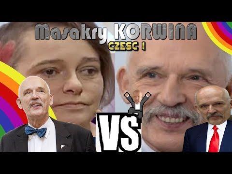 Janusz korwin mikke V feministka (Najlepsze momenty)