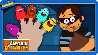 Finger Family | Nursery Rhymes | Kids Songs By Captain Discovery