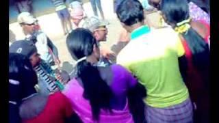 a santhali traditional Dance