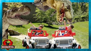 Dinosaur Adventure Showdown. Lion King Movie and Dinosaur Patrol with Chase and Cole Adventures