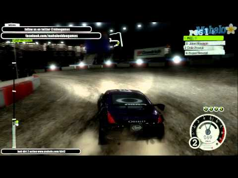 DiRT2 London DC Battersea Bridge B [RallyCross]