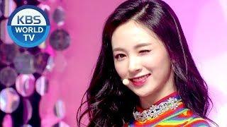 Cherry Bullet 체리블렛 Violet Q A Music Bank Hot Debut 2019 01 25
