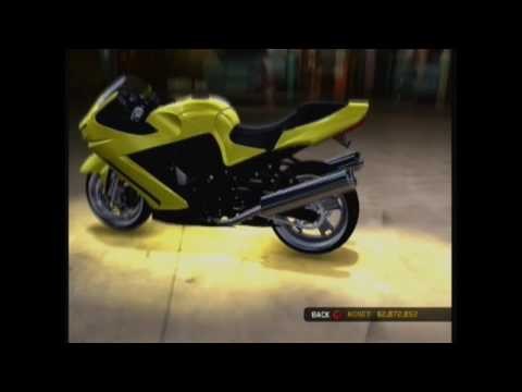 Midnight Club Los Angeles (Kawasaki Ninja ZX-14 BODY KIT'S) Video