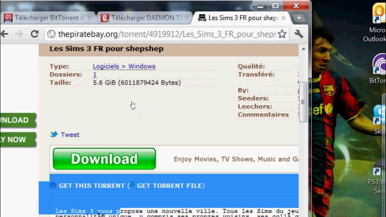 Tuto telecharger et installer les sims 3 gratuitement en - Telecharger daemon tools lite gratuit francais ...
