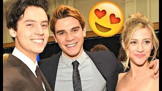 Cole & Lili & KJ Apa & Camila 😍😍😍 - CUTE AND FUNNY MOMENTS (Riverdale 2018) #2