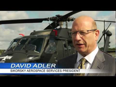 Sikorsky SAS President David Adler discusses aftermarket at 2012 Farnborough Air Show