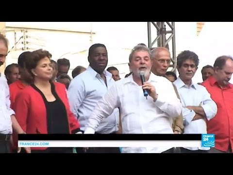 Brazil corruption scandal: Mass protest after ex-president Lula named chief of staff