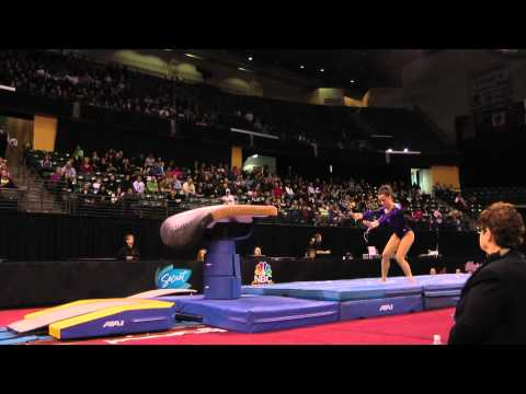 Amelia Hundley - Vault Finals - 2012 Kellogg&#039;s Pacific Rim Championships - 2nd