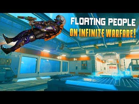 FLOATING PEOPLE ON INFINITE WARFARE! (Infinite Warfare Beta Gameplay & Funny Moments) - MatMicMar
