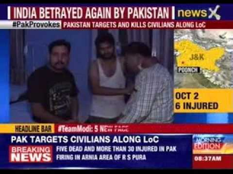 10 ceasefire violations by Pakistan in 9 days