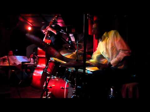 Brian Blade, london 2012 playing with Jon Cowherd's