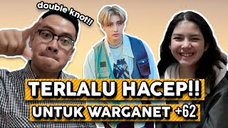 "HACEP BANGET BOSS - Stray Kids ""Double Knot"" KPOP MV REACTION INDONESIA"