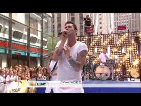 Maroon 5 : One More Night - The Today Show 06 29 2012 video