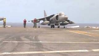 Harrier Vertical Landing & Takeoff