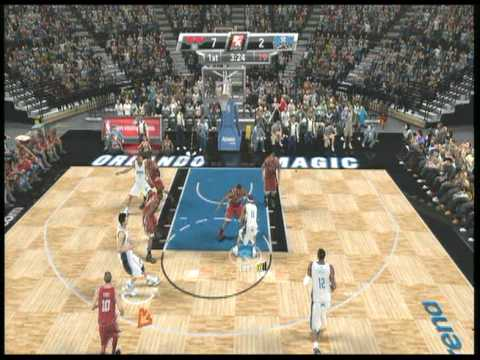 NBA2K9 - Hawks vs Magic - 1st