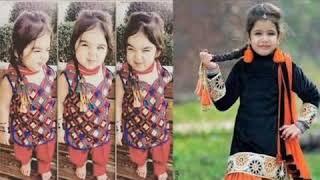 Baby girls Punjabi suit designs /Punjabi suit for little girls