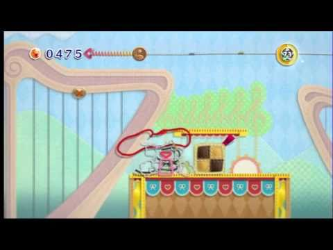 Kirbys Epic Yarn Part 12 - Sweets Park And Melody Town