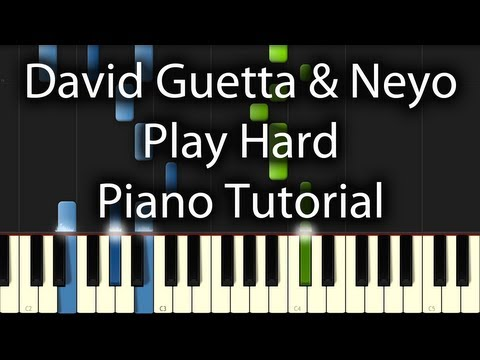David Guetta - Play Hard feat. Ne-Yo & Akon Tutorial (How To...