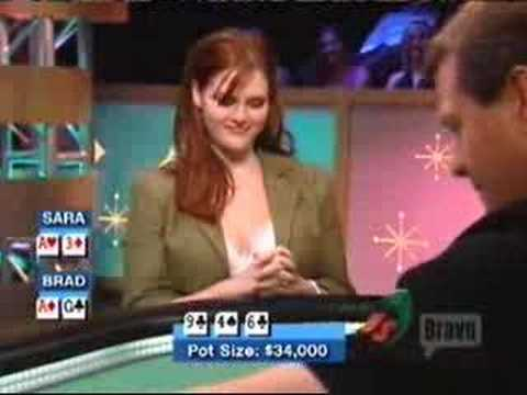 Sara Rue vs' Brad Garrett on Celebrity Poker 2/2
