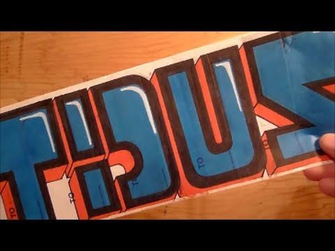 Tidus Graffiti Stickers Update