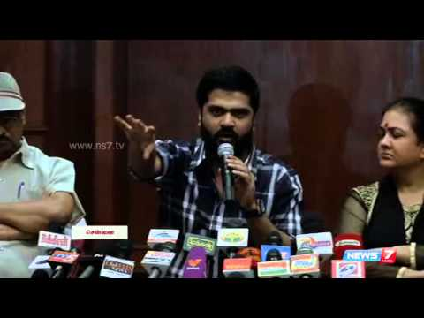 Simbu emotional speech about politics in Nadigar Sangam election 2015 |Tamil Nadu |News7 Tamil
