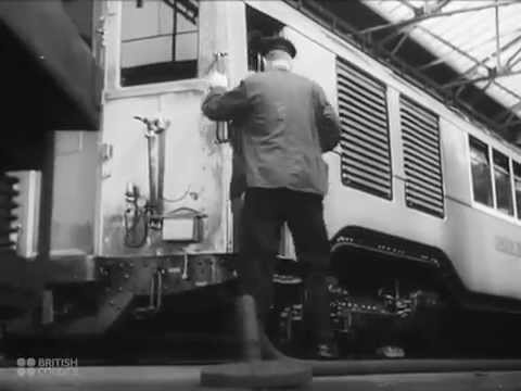 Train & Public Transport in London - 1941 British Council Film Collection - CharlieDeanArchives