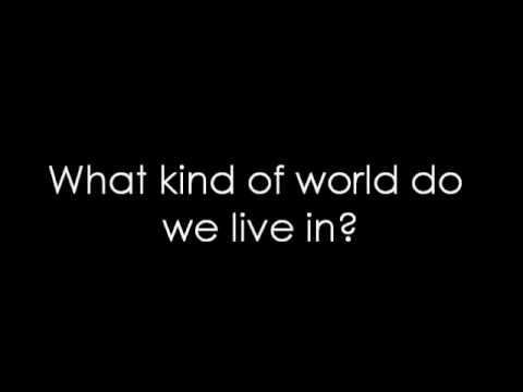 12 Stones - World So Cold (lyrics) video
