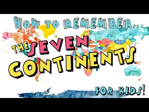How to Remember the Seven Continents! for Kids!