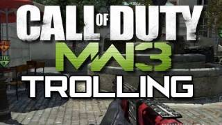 MW3 Epic Trolling - No MOAB For You! (Funny MW3 Gameplay Moments)