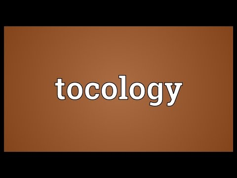Header of tocology