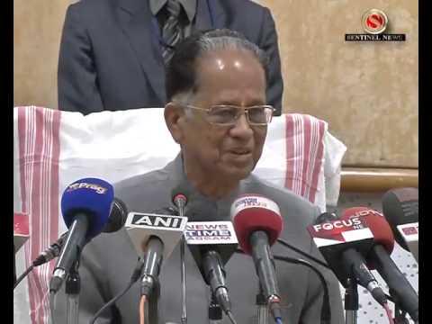 BJP k Xamaluchana Mukhyamontri Tarun Gogoi r